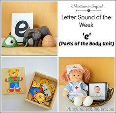 Parts of the Body Unit for Toddlers from The Pinay Homeschooler