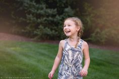 Naturally styled candid portrait of a 4-year old girl by N. Lalor Photography.