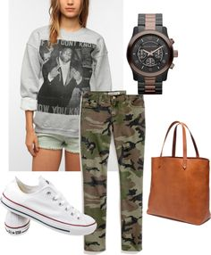 """""""Fatigue chillin"""" by azuredkmetoyer on Polyvore"""
