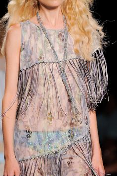 A is for Anna Sui: New York Fashion Week Spring 2014 - Detail.