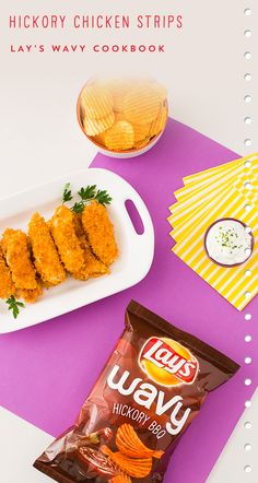 Add these Hickory Chicken Strips to your next party! Bonus: They taste great with ranch yogurt dip.