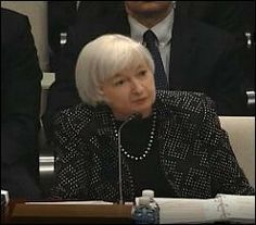 Fed Chair Janet Yellen Testifying on February 25, 2015 Before the House Financial Services Committee