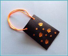 Mini-Geschenktüte Schmetterling von Smaragddrache auf DaWanda.com
