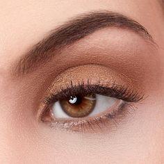 Brass Monkey by exurbe cosmetics is a vegan eyeshadow in bronze.