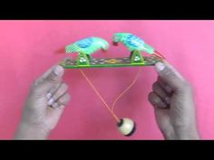 PECKING ORDER - Traditional Indian wooden pecking birds! - YouTube