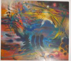 De aquello inasible y firme Óleo sobre lienzo 170 X 150 cms 2011 Colección privada