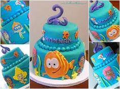 Bubble Guppies party theme idea....going to need this cake for katelyns 2nd birthday
