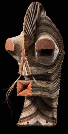 """Songe """"kifwebe"""" mask 53 cm"""