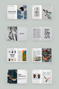 Sunday Magazine is a fictional magazine about all the pleasures we cant enjoy during week days. Its Sunday take your time and just dive into the in-depth contents of the magazine. All the images of this project belong to their authors. Editorial Design Layouts, Magazine Layout Design, Book Design Layout, Print Layout, Page Design, Magazine Layouts, Layout Inspiration, Graphic Design Inspiration, Mise En Page Magazine