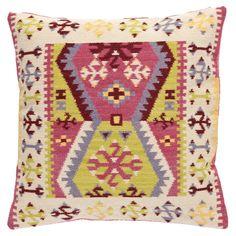 Bohemian Wool Pillow