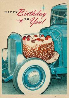 Used Hot Rod Happy Birthday! Birthday Greetings For Facebook, Happy Birthday Greetings Friends, Happy Birthday Messages, Happy Birthday Quotes, Birthday Sayings, Happy Birthdays, Birthday Banners, Happy Birthday Hot, Happy Birthday Nephew