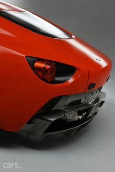 Probably the only part of this car I like.  Aston Martin V12 Zagato