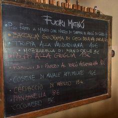 #fuorimenu #polpo #sarde #nero di #seppia  #trippa #mozzarella #vegana #ragu #vegetariano #baccala #foodporn #valdorcia #sanquiricodorcia #tuscany #panzanella