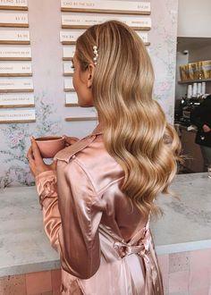 Mens Hairstyles Thin Hair, Bride Hairstyles, Down Hairstyles, Hairstyles 2018, Glamorous Hairstyles, Homecoming Hairstyles, Bridesmaid Hairstyles, Hairstyle Ideas, Hair Ideas