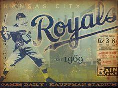 KC Royals Canvas Art - Gemini Studios