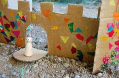 Configure Your Own Cardboard Castle from Inner Child Fun - ideas for fun kids activities