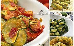 Ricette con zucchine - raccolta di 20 idee facili e veloci