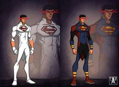 Superboy by KingLeonUniverse on @DeviantArt