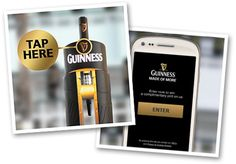 Guinness adopts NFC technology to engage with consumers