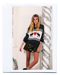 BDG Animal Games Sweater #urbanoutfitters