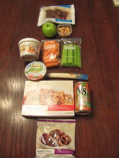 Nutrisystem 5 day Weight Loss Kit.  Day 2