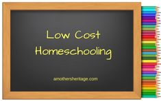 For many who have chosen to homeschool, money can be non-existent. Living on one income in a two income society can be difficult. We have found ourselves many times scanning ebay to save a few doll…
