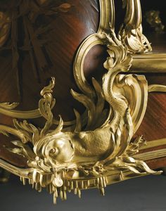"""FRANÇOIS LINKE 1855 - 1946 """"LE GRAND BUREAU"""", AN IMPORTANT SCULPTURAL GILT BRONZE MOUNTED KINGWOOD, SATINÉ AND FRUITWOOD MARQUETRY WRITING DESK AND ACCOMPANYING CHAIR, PARIS, CIRCA 1895, INDEX NUMBER 550"""