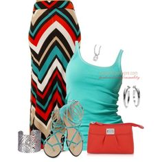 Summer Bold, created by casuality on Polyvore