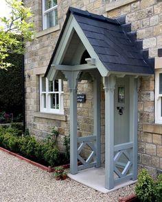 The English Porch Company - porches, wooden porches and oak porches Porch Uk, House Front Porch, Front Porch Design, Porch Over Front Door, Porch Designs Uk, Porch Veranda, Cottage Front Doors, Cottage Porch, Cottage Exterior