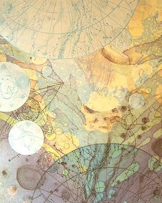 staceythinx:  Selections from Tallmadge Doyle's etherealCelestial Mapping Series