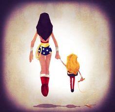 aunque tenga que ayudar al mundo ! siempre debes ser buen padre