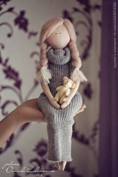 Cute jumper dress doll