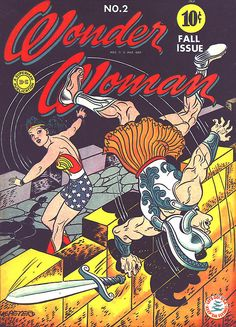 towritecomicsonherarms: Wonder Woman Vol 1 #2 September, 1942