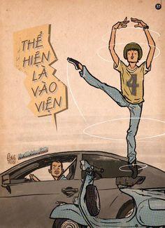 """Thành Phong cho ra mắt truyện tranh e-book hài hước về giao thông """"Nghĩ trước khi bấm còi"""""""