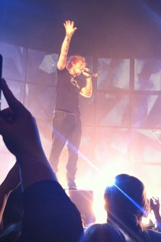 Ed sheeran concert <3>>> these are some of my favourite things.