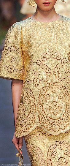 Dolce & Gabbana Spring 2014♥✤ | Keep the Glamour | BeStayBeautiful