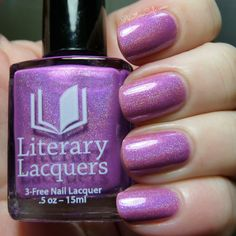 Literary Lacquers: 2014 Community Collection - Swatches and Review   Pointless Cafe
