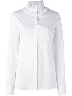 For Cheap 2018 fluted poplin shirt - White Marni Sale Shop g2aROUgn