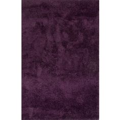 solid pattern purple polyester shag rug 527 liked on polyvore featuring home