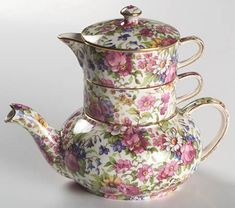 decorating with chintz - Google Search
