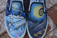 The Nightmare Before Christmas shoes.