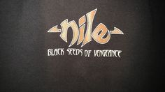 Nile Death Metal Band Black Seeds of Vengeance Girly Baby Doll tank top #MyBabyDoll #GraphicTee