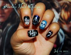 harry potter nail designs - Google Search