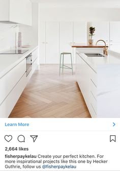 My House, Kitchens, Minimalist, Spaces, Interior Design, Room, Projects, Inspiration, Home Decor