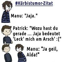 Kürbistumor//Zitat//Quote//GermanLetsPlay//Paluten//MarioParty//Minecraft//LetsPlay//Miu//EigenePins