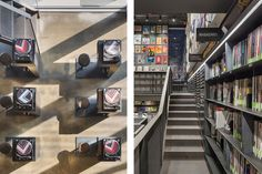 韓國現代信用卡公司打造收藏 1 萬餘張黑膠唱片的「Music Library + Understage」多功能音樂圖書館 Music Library, Vinyl Records, Commercial, Packaging, Space, House, Decor, Floor Space, Decoration