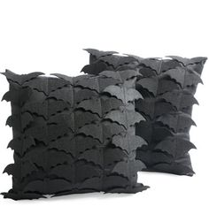 Going batty over these festive throw pillows!