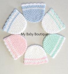 Dressy X n' O's Newborn Hat
