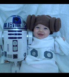 Costume Halloween  40 idées originales de déguisements pour vos enfants  sc 1 st  Pinterest & DIY Baby Princess Leia Costume | Cute | Pinterest | Baby princess ...