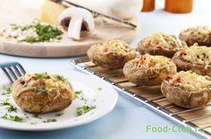 Запеченные грибы от Джейми Оливера / Овощные/грибные / Кулинарные рецепты - Фуд-клаб.ру